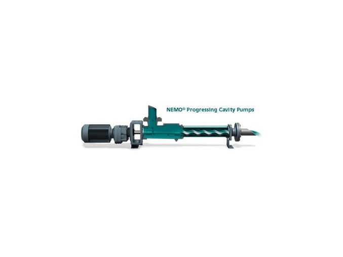 Injection progressing cavity pumps + accessories