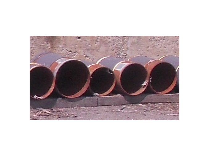 Welded Elbow 355,6 x 10,0 mm 2,52 R=2134 Ends 6,3 mm L 360 NB, 35 kg