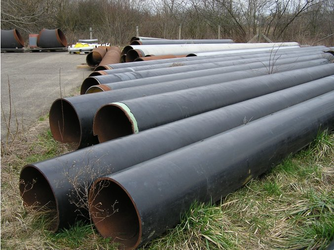 Seamless Steel Pipe  DN 400, 12,5 m