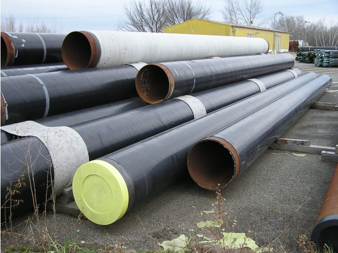 Seamless Steel Pipe  DN 500 (508 x 7,1) , length 13,47 m, PE