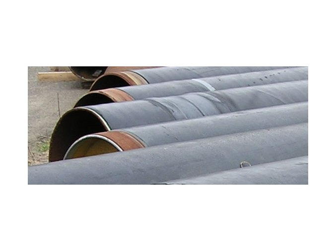 Seamless Steel Pipe  DN 600 (610 x 12,5), length 12,8 m, PE