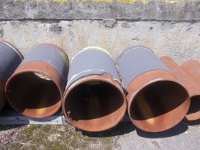 Welded Elbow 508,0 x 11,0 mm 4,38 R=3048 Ends 8,0 mm L 360 NB, 80 kg
