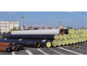 Seamless Steel Pipe DN 600 (610 x 8,8), 9,49m , 182 kg/m, FMZ