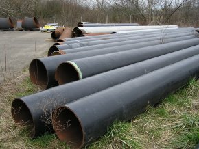 Seamless Steel Pipe DN 500, 10,30 m