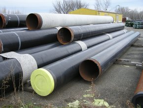 Seamless Steel Pipes DN 600 (610 x 8) length 13,31m, FZM