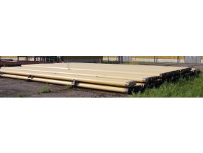 Seamless Steel Pipe DN 200 (219,1 x 6,3), FZM, length 12 m