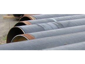 Seamless Steel Pipe  DN 600 (610 x 12,5), length 12,8 m, PE